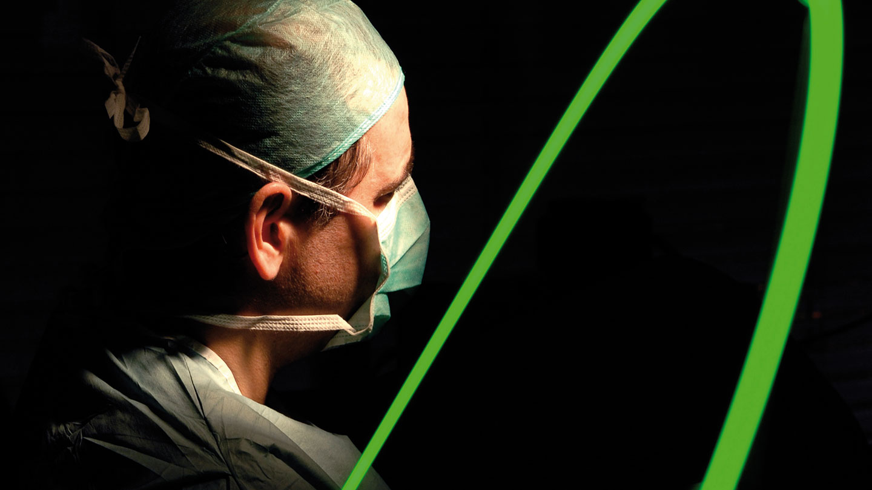 próstata quirúrgica con luz láser verde